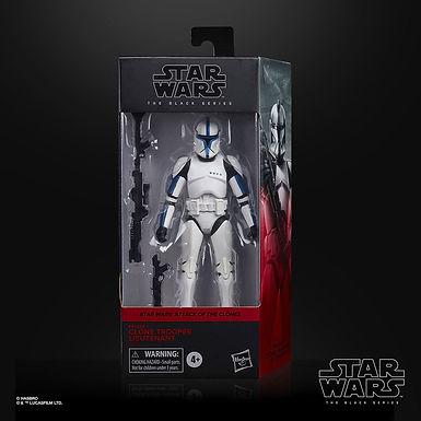 Star Wars Episode II Black Series Phase I Clone Trooper Lieutenant