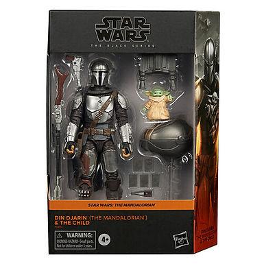 Star Wars Black Series The Mandalorian Djin Djarin Build Up Pack
