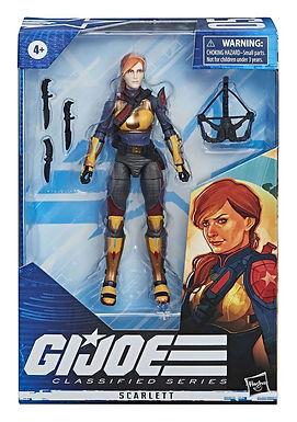 G.I. Joe Classified Series Wave 1 Action Figure Scarlett