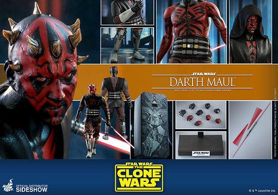 Hot Toys 1.6 Star Wars The Clone Wars Darth Maul