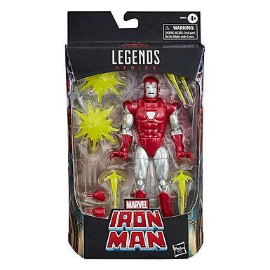 Marvel Legends Series Action Figure 2020 Iron Man Silver Centurion 15 cm