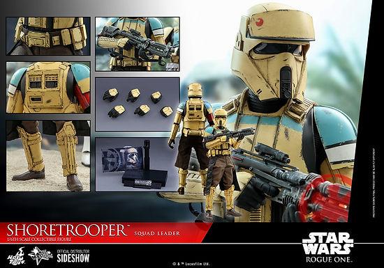 Hot Toys 1:6 Shoretrooper Squad Leader