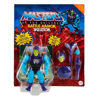 Masters of the Universe Deluxe Battle Armour Skeletor 14 cm