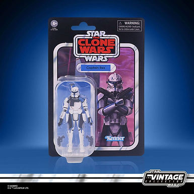 Star Wars The Vintage Collection Captain Rex (The Clone Wars)