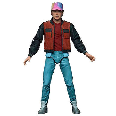 Back to the Future II Ultimate Martin McFly articulated figure 18cm