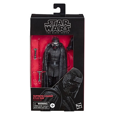 Star Wars Black Series Action Figure 2019 Supreme Leader Kylo Ren