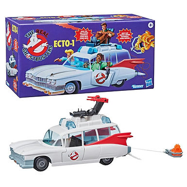 The Real Ghostbusters Kenner Classics Vehicle ECTO-1