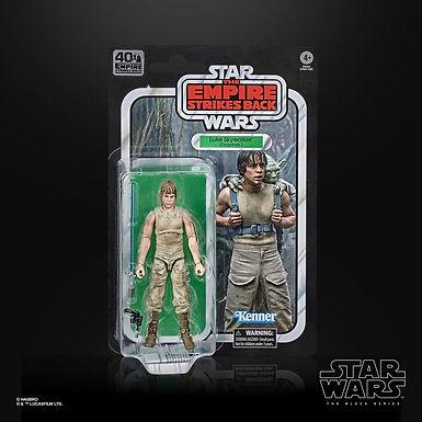Star Wars Episode V Black Series 40th Anniversary Wave 3 Luke Skywalker Dagobah