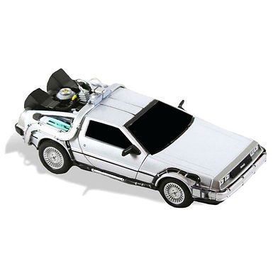 Back to the Future Diecast Time Machine vehicle 15cm