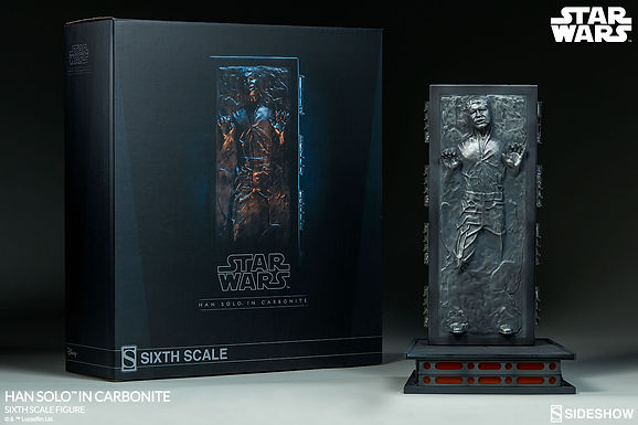 Sideshow 1:6 Han Solo in Carbonite