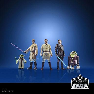 Star Wars Celebrate the Saga Action Figures 5-Pack The Jedi Order 10 cm