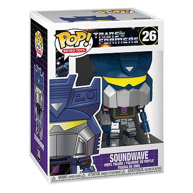 Transformers POP! Movies Vinyl Figure Soundwave 9 cm