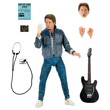 Back to the Future Marty McFly Audition figure