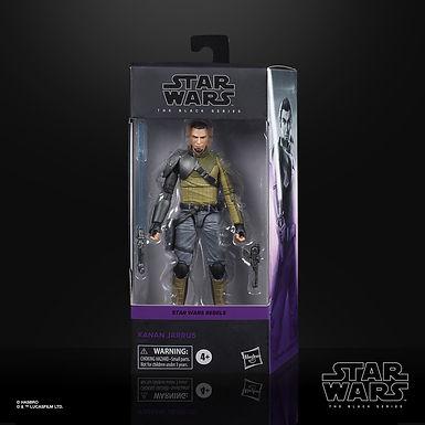 Star Wars Rebels Black Series Action Figure Kanan Jarrus