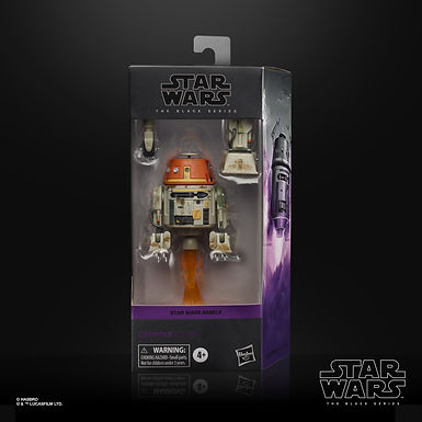 "Star Wars Rebels Black Series Action Figure C1-10P ""Chopper"""