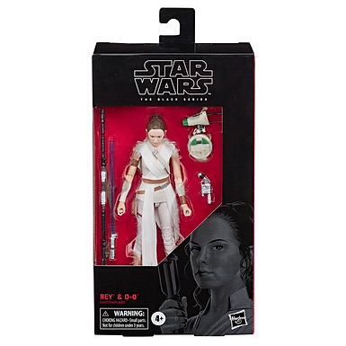 Star Wars Black Series Action Figure Rey & D-O