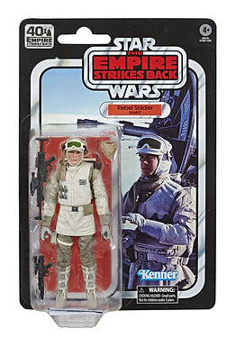 Star Wars Black Series Action Figure 40th Anniversary Rebel Soldier (Hoth)