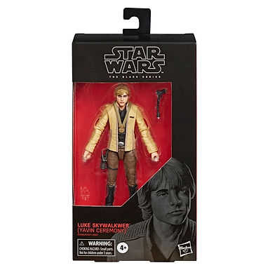Star Wars Black Series Action Figure  Luke Skywalker (Yavin Ceremony)