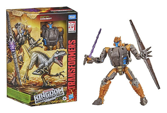 Transformers Generations War for Cybertron: Kingdom Voyager Dinobot