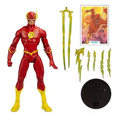 DC Multiverse Action Figure Modern Comic Flash 18 cm