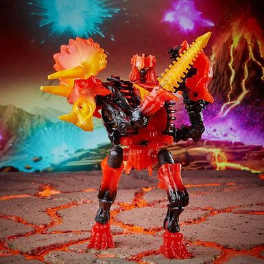 Transformers Generations War for Cybertron Deluxe Tricranius Beast