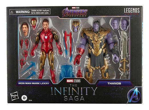 The Infinity Saga Marvel Legends Series 2-Pack  Iron Man & Thanos