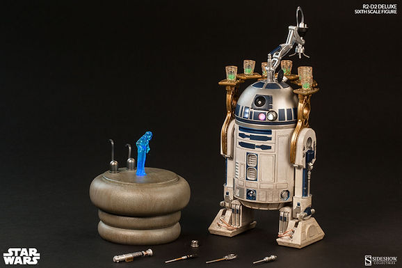 Sideshow 1:6 R2-D2 Deluxe Figure