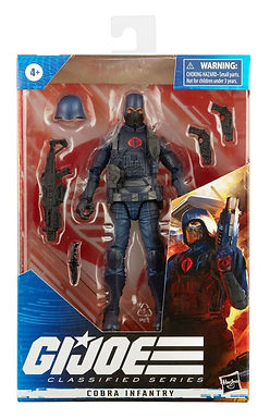 G.I. Joe Classified Series Wave 1 Action Figure Cobra Infantry