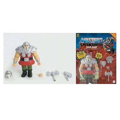 Masters of the Universe Deluxe Ram Man 14 cm