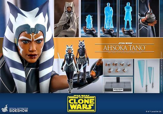 Hot Toys 1.6 Star Wars The Clone Wars Ahsoka Tano