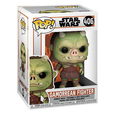 Star Wars The Mandalorian POP! TV Vinyl Figure Gamorean Fighter 9 cm