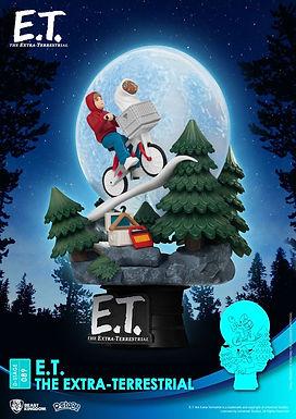 E.T. the Extra-Terrestrial D-Stage PVC Diorama Iconic Scene Movie Scene