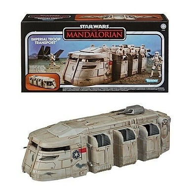 The vintage collection mandalorian troop transport