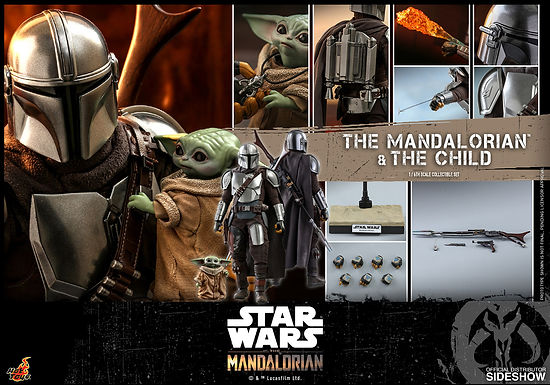 1:6 The Mandalorian and The Child