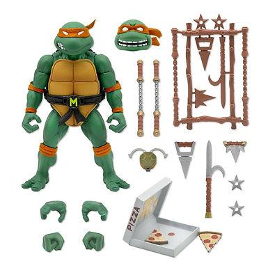 Teenage Mutant Ninja Turtles Ultimates Action Figure Michaelangelo 18 cm