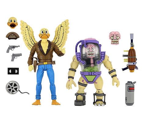 NECA TMNT '87 Ace Duck & Mutagen Man Action Figure 2-Pack