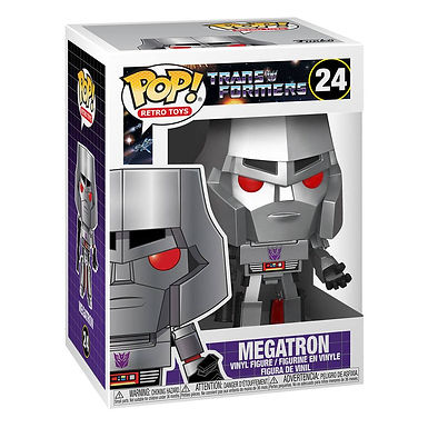 Transformers POP! Movies Vinyl Figure Megatron 9 cm