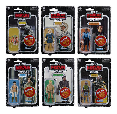 Star Wars Episode V Retro Collection Action Figures 10 cm Assortment 2020