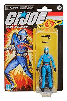 G.I. Joe Retro Collection Series Action Figure Cobra Commander