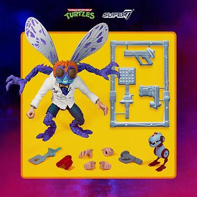 Teenage Mutant Ninja Turtles Ultimates Action Figure Baxter Stockman 18 cm