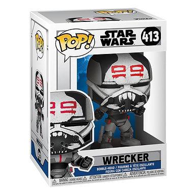 Star Wars: Clone Wars POP! Star Wars Vinyl Figure Wrecker 9 cm