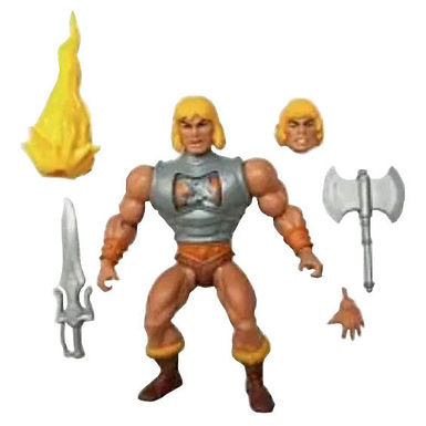 Masters of the Universe Deluxe Battle Armour He-Man 14 cm