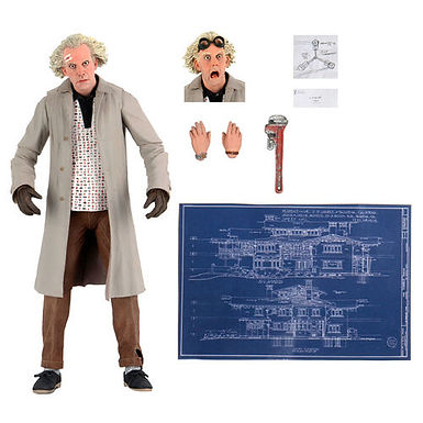 Back to the Future Doc Brown Ultimate figure 18cm