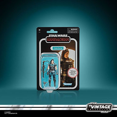 Star Wars The Mandalorian Vintage Collection Carbonized Action Figure Cara Dune