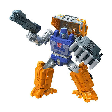 Transformers Generations War for Cybertron: Kingdom Deluxe Huffer