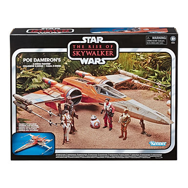 Star Wars Episode IX Vintage Collection Vehicle Poe Dameron's X-Wing Fighter