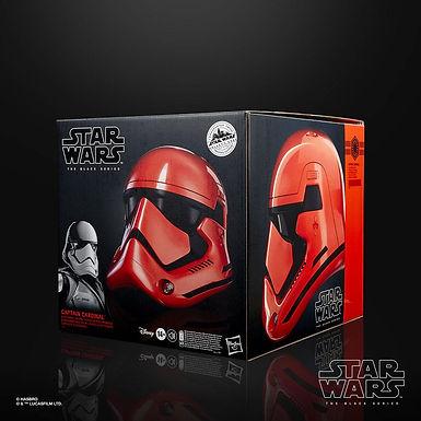 Star Wars Galaxy's Edge Black Series Electronic Helmet Captain Cardinal