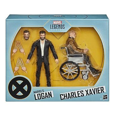 Marvel Legends Series Action Figure 2-Pack 2020 Marvel's Logan & Charles Xavier