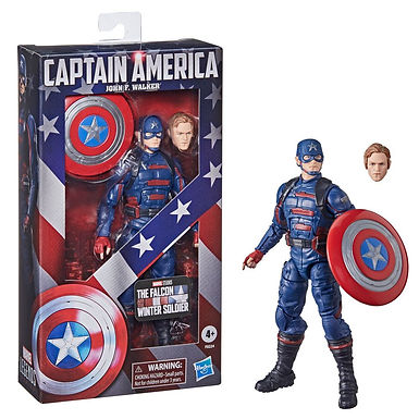 The Falcon and the Winter Soldier Marvel Legends Captain America John F. Walker