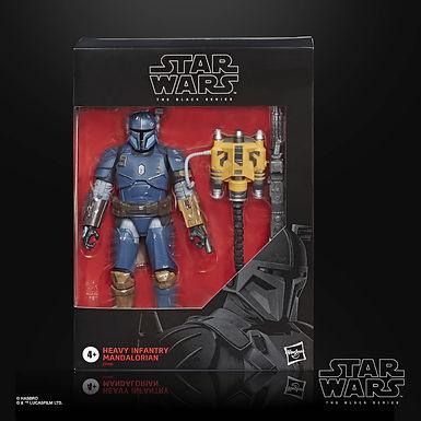 Star Wars Black Series Mandalorian Heavy Infantry Figure